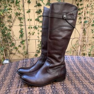 Frye Molly Button Tall Boots